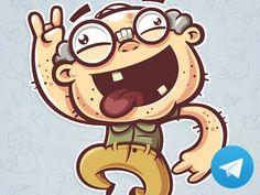 Crazy Grandpa by Evgeny Polukhin - Dribbble Cartoon Design, Cartoon Styles, Character Design Animation, Character Art, Don Chuy, Children's Book Characters, Vector Characters, Ballon Animals, Fish Sketch