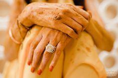 Kamya Punjabi Gets Hitched To Shalabh! Wedding Wear, Wedding Bells, Wedding Rings, Wedding Rituals, Red Lehenga, Punjabi Wedding, Solitaire Ring, Celebrity, Indian