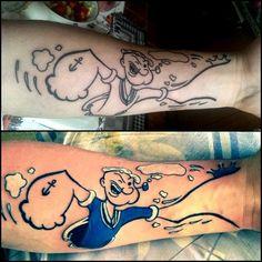#tattoo #temel reis #color tattoo #