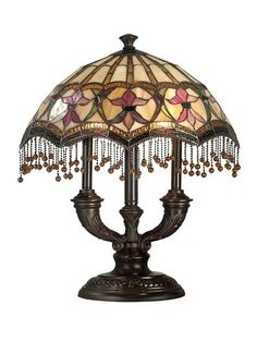 Tiffany Lamps - Stained Glass Lamps - Tiffany Style Lamps could be used for a laundry room.