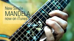 """Mandela"" Single artwork from Guitarist Terry Wollman's CD ""Buddha's Ear"" 