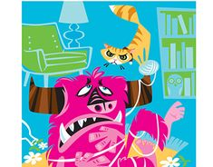 Don't Mess with Kitty Working On Myself, New Work, Behance, Kitty, Illustrations, Gallery, Projects, Check, Animals