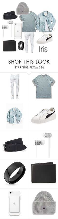 """""""Tris"""" by vejacomotenpovoa ❤ liked on Polyvore featuring Dsquared2, Kestin Hare, Vans, Puma, Lacoste, Beats by Dr. Dre, Bling Jewelry, The Men's Store, Acne Studios and men's fashion"""