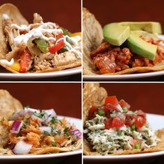 Here Are Four Ways To Make Chicken Tacos