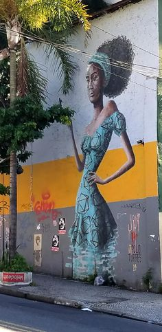 São Paulo, Brasil - Amazing Street Art & Graffiti. This is from the wonderful artist Apolo Torres @apolotorres in the Pinheiros neighborhood (next to Vila Madalena) ...what a stunning, artistic, city region.  (Beco do Aprendiz is in the Pinheiros region) Original photography by R. Stowe