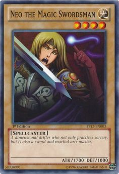 Yu-Gi-Oh! - Neo the Magic Swordsman (YS13-EN003) - Super Starter: V for Victory - 1st Edition - Common