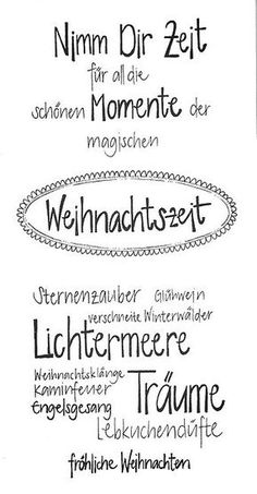 Christmas sayings for cards - Handlettering - Weihnachten Christmas Card Sayings, Christmas Words, Christmas Ad, Christmas Greeting Cards, Christmas Wishes, Christmas Greetings, Christmas Crafts, Christmas Decorations, Christmas Angels