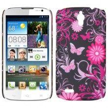 Carcasa Huawei Ascend G610 Hard Case Mariposa Flores $ 17.400,00