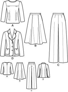 Simplicity 3688 from Simplicity patterns is a This is so 1940s! sewing pattern
