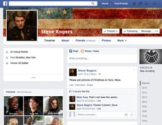 "Captain America (Steve Rogers) | If ""The Avengers"" Used Social Media"