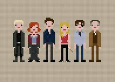 Pixel People Buffy the Vampire Slayer PDF by weelittlestitches