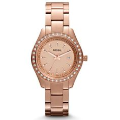 Final Price- Rose Gold Fossil Watch
