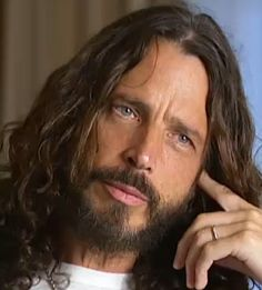 Chris Cornell and the beard phase - not so fond.
