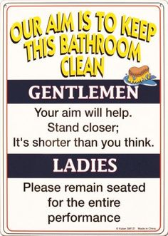 This should be in every public bathroom.