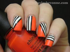 I want to get my hands on China Glaze - Surfin' for boys! And I also love this #nailart design.