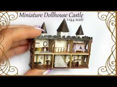 Creating Dollhouse Miniatures: 1:144 Scale Dollhouse Castle Tutorial