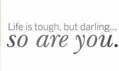 La vida es dura pero querid@ Tu también lo eres. #vamoaetooo #coachingdevida #notedesanime #almaplastía