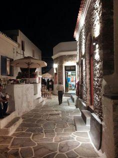 Kythnos island , Chora at night Greek Islands, Night, Greek Isles