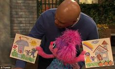 """""""D"""" is for divorce: Sesame Street teaches kids about separation for the first time."""