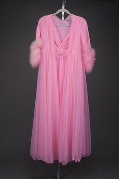 Claire Sandra Hollywood Glam Vintage nightgown and peignoir currently bidding is at $560