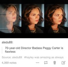 And I thought the Winter Soldier Peggy was impressive