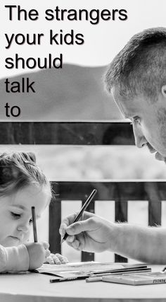 Honestly, kids have to talk to strangers a lot. Here's how to make a meaningful message about how to talk to strangers