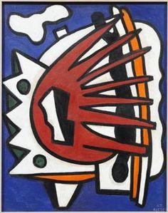 CompositionforaMural - Fernand Leger