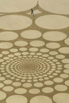 Jim Denevan, Sand Artist, labors for the pure joy of expression and the meditative experience of creating, even though he knows it will be washed away with the first high tide.... a mystical metaphor of life itself '~ acim'