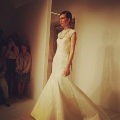 Amsale #bridalfashionweek #bridalmarket
