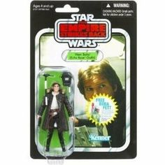 Star Wars 3.75  inch Vintage Figure Han Solo (Echo Base Outfit) by Star Wars. $17.99. Whether you?re recreating exciting battle scenes or building up your collection, the fun is sure to be epic. Figure comes with weapon accessories.. Iconic Star Wars heroes and villains are captured with incredible detail and premium features to commemorate each epic tale in the Star Wars saga. Based on the character from the classic The Empire Strikes Back film, this articulated action fig...