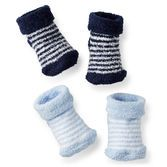 Baby's feet will be so warm and cozy in these chenille socks. They are perfectly soft for new feet.