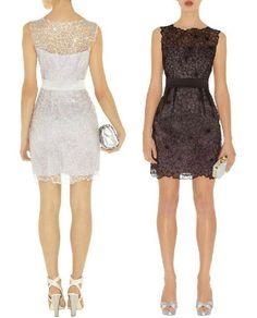 Embroidery Slim round neck dress 061466  Onsale