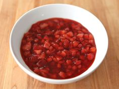 Strawberry Topping - Simple Fresh Strawberry Recipe