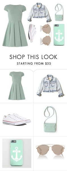"""#3"" by stowies74 on Polyvore featuring Closet, Hollister Co., Converse and Christian Dior"
