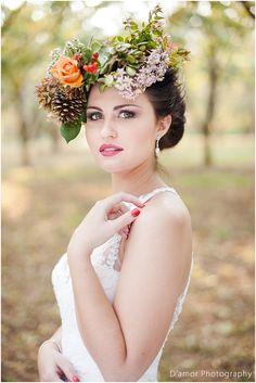 Beautiful head piece from Dearlove Weddings & Events