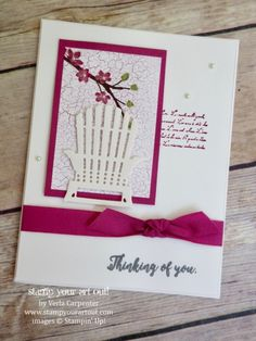 ORDER STAMPIN' UP! ONLINE Providing stamping ideas and inspiration for making handmade cards, scrapbooking and home décor with stampinup paper crafting supplies. Hand Made Greeting Cards, Making Greeting Cards, Stampin Up Catalog, Cards For Friends, Friend Cards, Stamping Up Cards, Get Well Cards, Sympathy Cards, Flower Cards