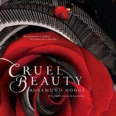 Audiobook Cruel Beauty by Rosamund Hodge, narrated by Elizabeth Knowelden. YA Fantasy. #audiobooks