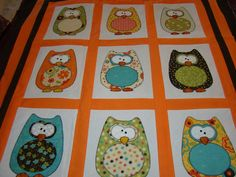 The Hoots quilt by Amy Bradley