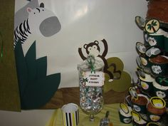 Clickable Party: Jungle Baby Shower