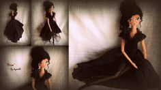 'Persa' OOAk Art Doll by kymeli ... Soft Dolls, Board, Handmade, Hand Made, Planks, Handarbeit