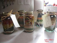 Lazy J Bar C Farm: Soup Mix In A Jar