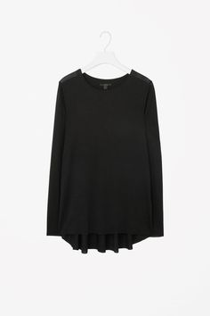 COS | Raw-edge flared top