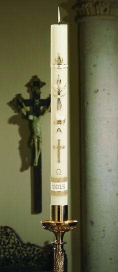49 Best Paschal Candles images | Candles, Baptism candle ...