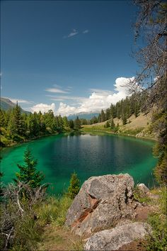 Valley of the Five Lakes, Jasper National Park, Canada (by Gordon M1)