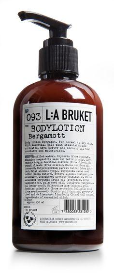 L:A Bruket - Lotion och Bodybutter Body Butter, Shea Butter, Lotion, Packaging, Bergamot, Our Body, Body Care, Cocoa, Moisturizer