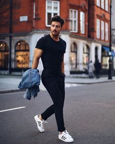 – Mr Streetwear Magazine - Best Fashions for All Smart Casual Work Outfit, Business Casual Outfits, Rugged Style, Streetwear Magazine, Mode Masculine, Stylish Men, Men Casual, Casual Styles, Looks Adidas