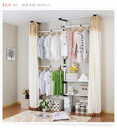 1000 images about bedroom on pinterest white bedrooms Rooms without closets creative