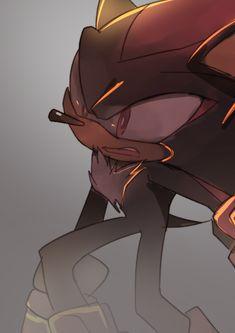 Shadow by on DeviantArt Shadow The Hedgehog, Sonic The Hedgehog, Shadow Images, Sonic Franchise, Sonic Heroes, Sonic Art, Life Form, Jojo's Bizarre Adventure, Yandere