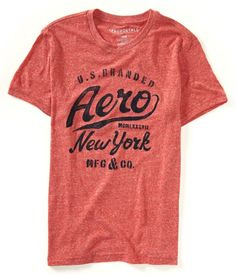 0c8420babcc Aero New York by Aéropostale Shirt Print Design