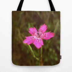 Longing for silence Tote Bag by Fenia Stavra - $22.00